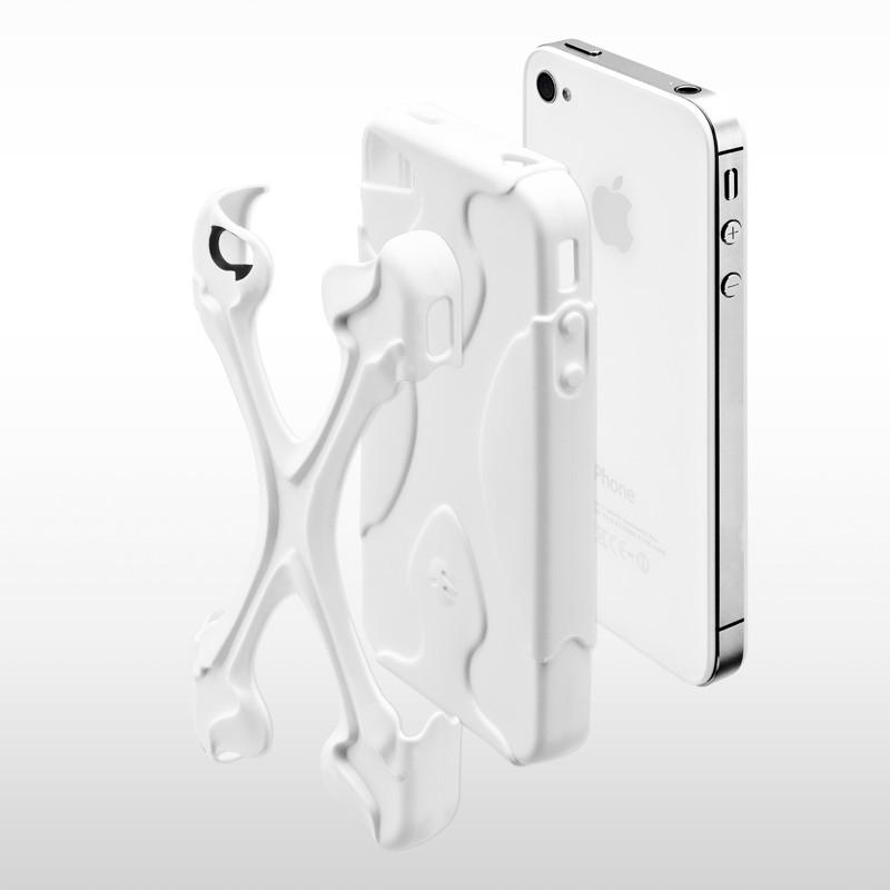 SwitchEasy Rebel X iPhone 4(S) Lime/purple - 5