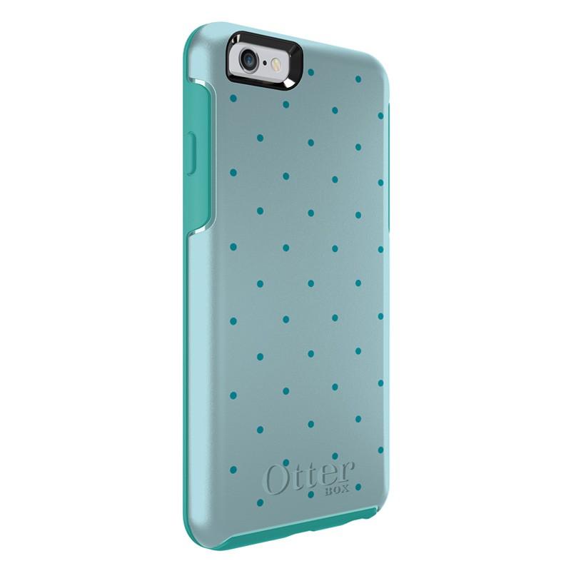 OtterBox Symmetry iPhone 6 Aqua Dot - 4