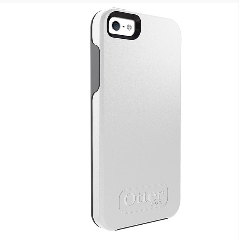 OtterBox Symmetry iPhone 5/5S White - 1