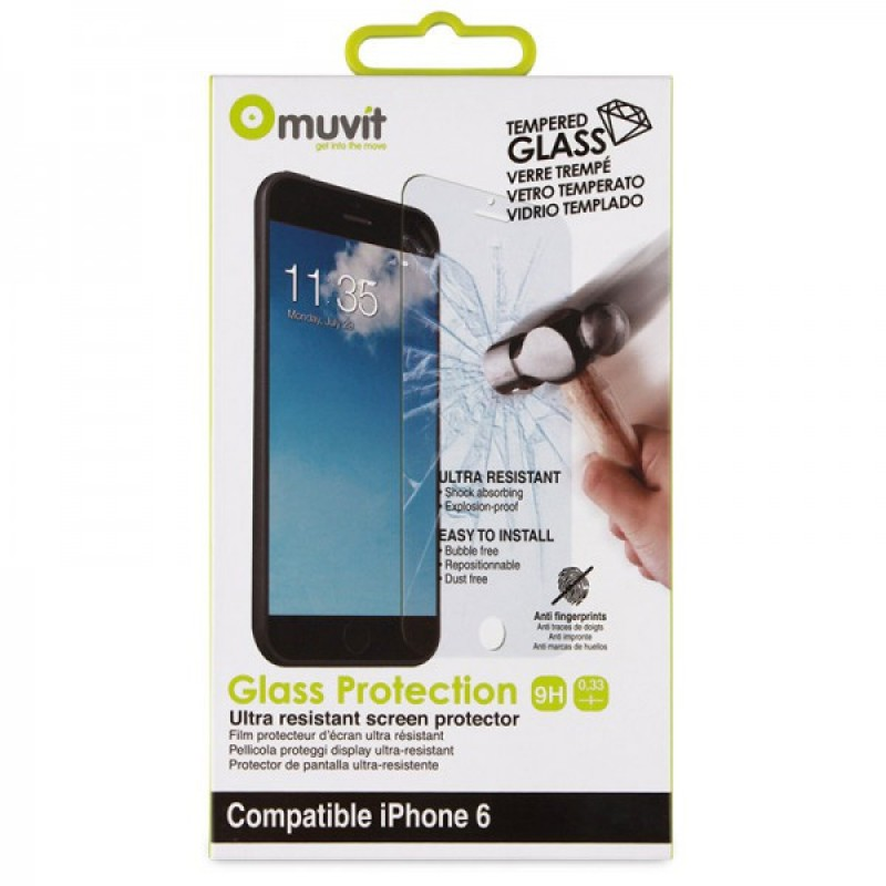 Muvit Tempered Glass Screen iPhone 6 Plus - 2