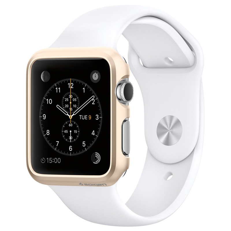Spigen Thin Fit Case Apple Watch 38mm Gold - 1