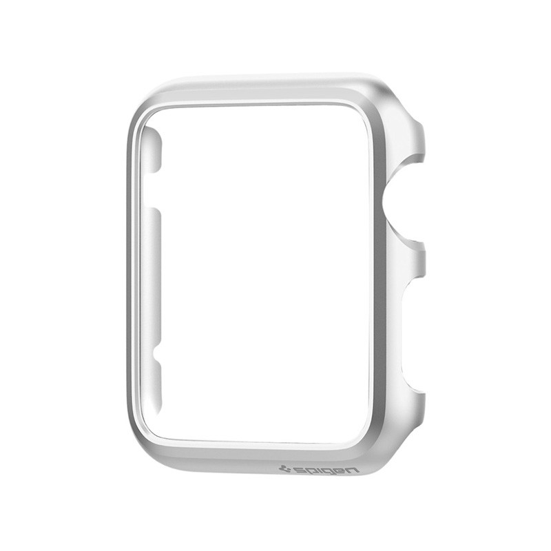 Spigen Thin Fit Case Apple Watch 38mm Silver - 5