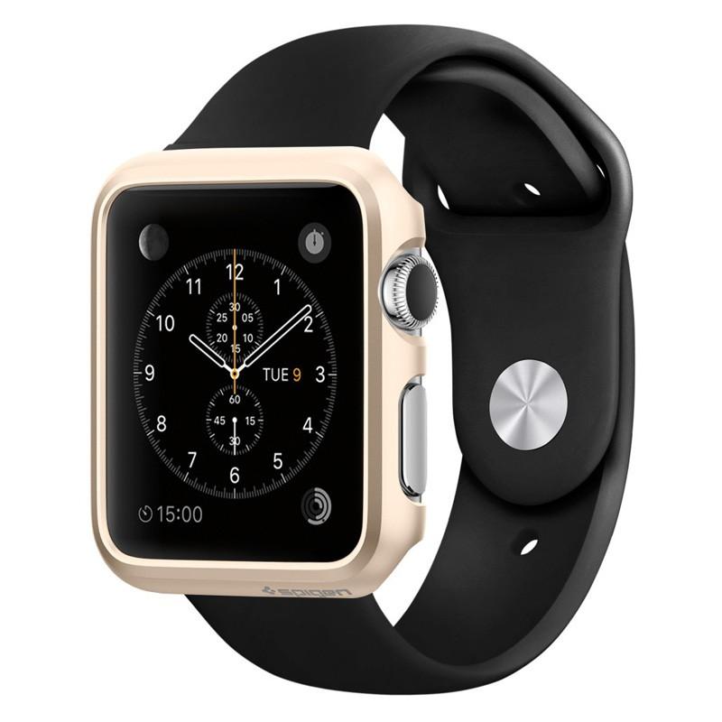 Spigen Thin Fit Case Apple Watch 42mm Gold - 1