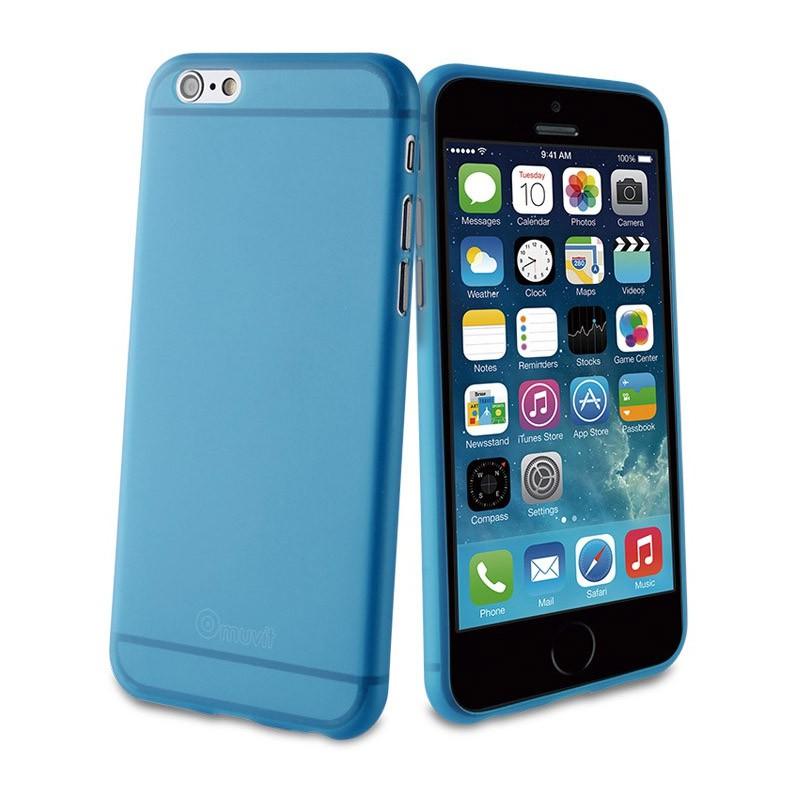 Muvit ThinGel iPhone 6 Plus Blue - 1