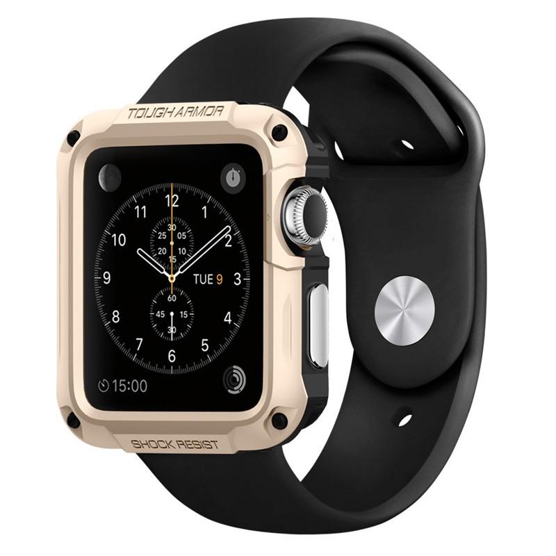 Spigen Tough Armor Case Apple Watch 42mm Gold - 1