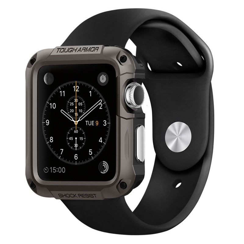 Spigen Tough Armor Case Apple Watch 42mm Gun Metal - 1