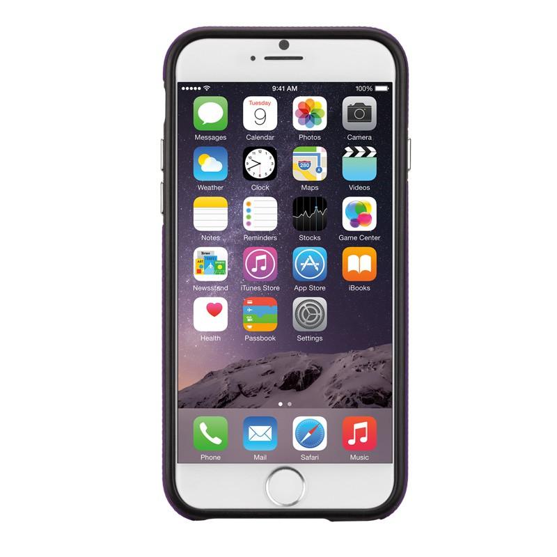 Case-Mate Tough Case iPhone 6 Purple/Black - 2