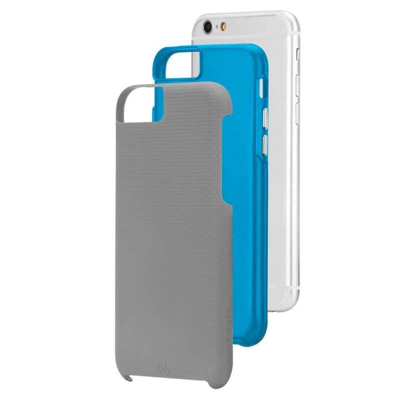 Case-Mate Tough Case iPhone 6 Grey/Blue - 3