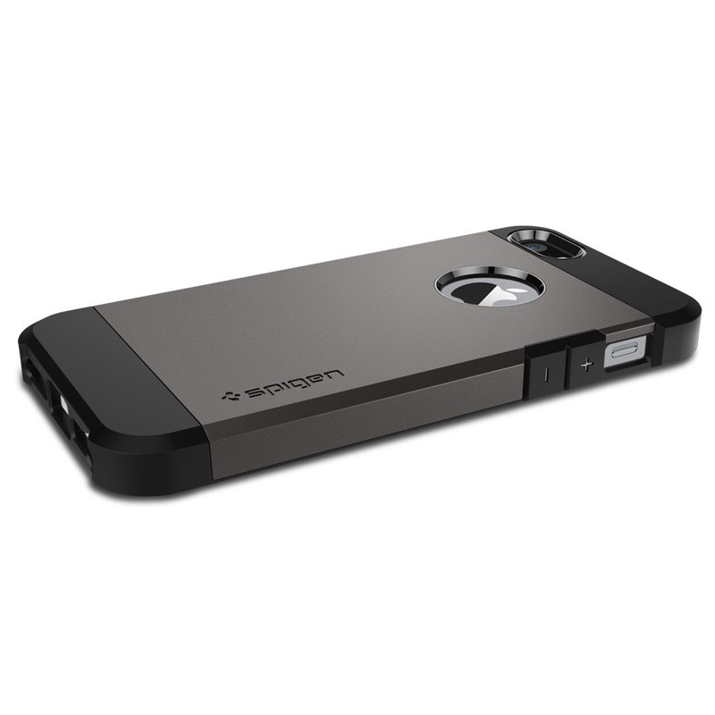 Spigen Tough Armor Case iPhone SE / 5S / 5 Gunmetal - 3