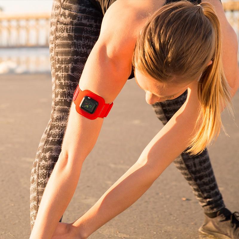 Twelve South - ActionSleeve voor Apple Watch 42mm Red 05