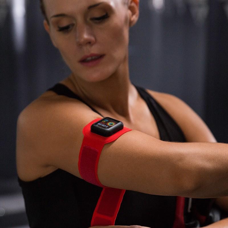 Twelve South - ActionSleeve voor Apple Watch 42mm Red 09