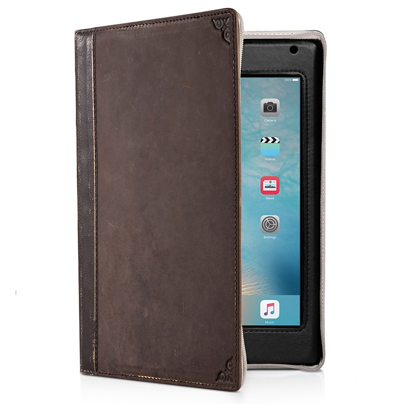 Twelve South - BookBook iPad Mini 4 Brown 01