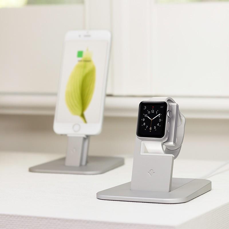 Twelve South - HiRise voor Apple Watch Silver 06