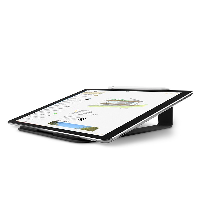 Twelve South - ParcSlope voor MacBook en iPad Pro Black 06