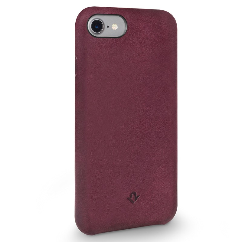 Twelve South - RelaxedLeather iPhone 7 hoesje Marsala 01
