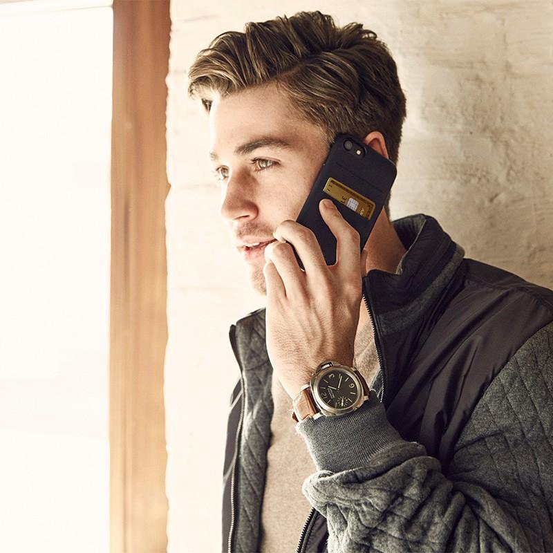 Twelve South - RelaxedLeather iPhone 7 Plus Wallet hoesje Cognac 05