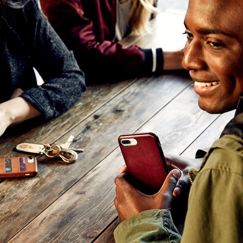 Twelve South - RelaxedLeather iPhone 7 Plus Wallet hoesje Cognac 09
