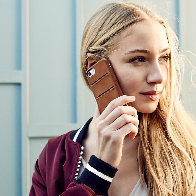 Twelve South - RelaxedLeather iPhone 7 Plus Wallet hoesje Cognac 10
