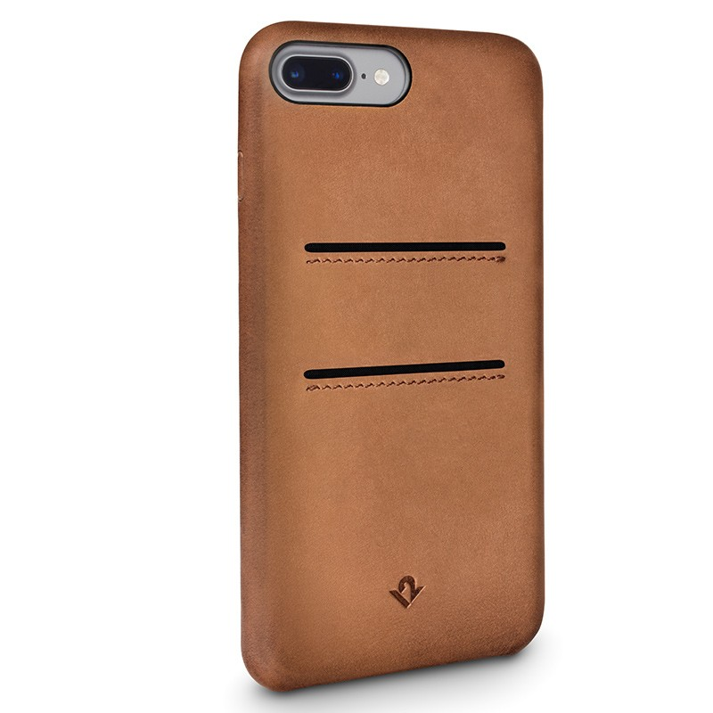 Twelve South - RelaxedLeather iPhone 7 Plus Wallet hoesje Cognac 02