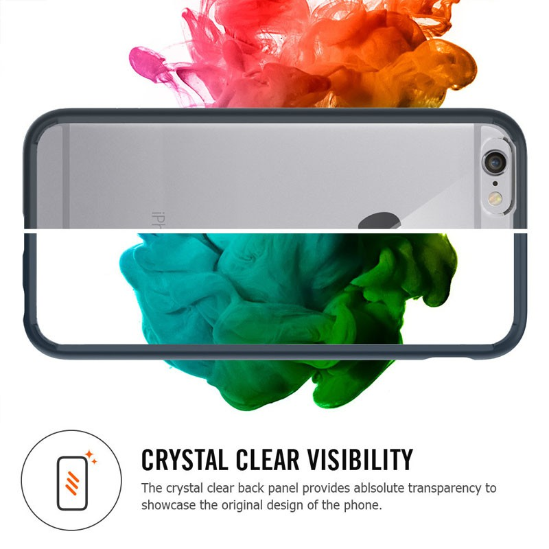 Spigen Ultra Hybrid Case iPhone 6 Black - 3