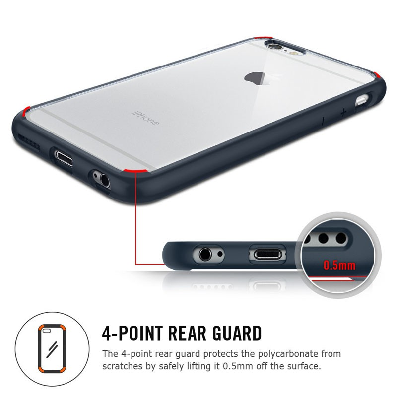 Spigen Ultra Hybrid Case iPhone 6 Clear - 6