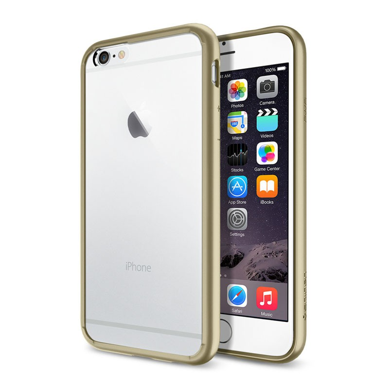 Spigen Ultra Hybrid Case iPhone 6 Champagne - 1