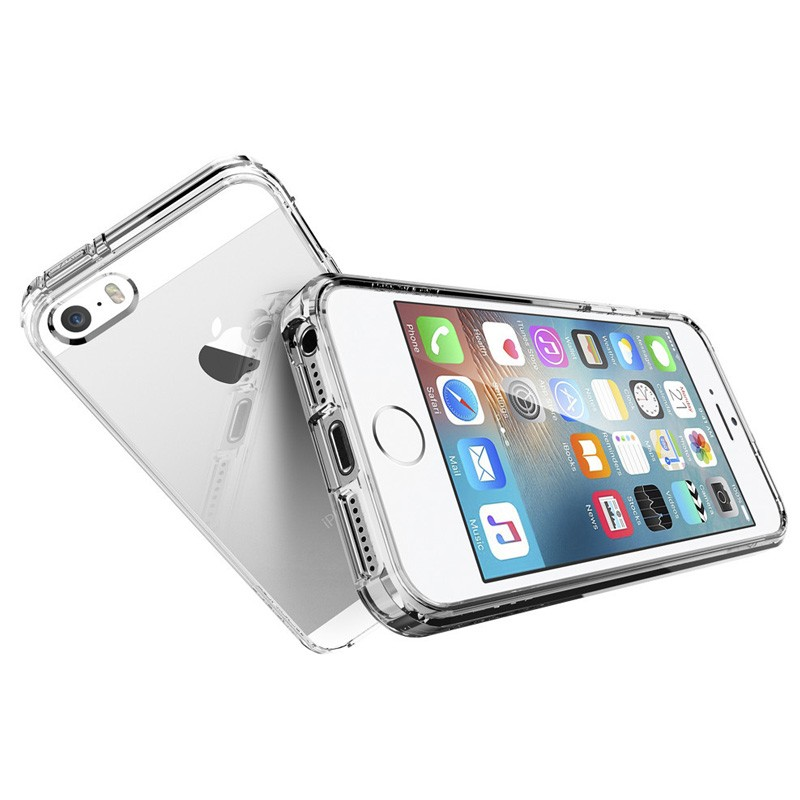 Spigen Ultra Hybrid Case iPhone SE / 5S / 5 Clear - 3