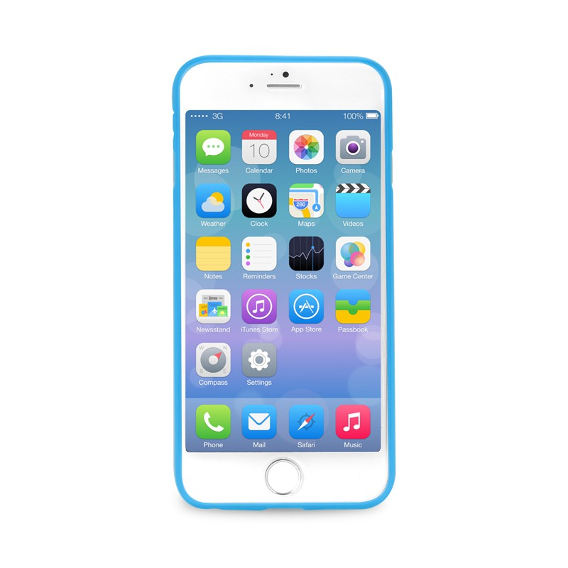 Puro UltraSlim Backcover iPhone 6 Blue - 2