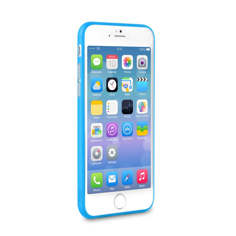 Puro UltraSlim Backcover iPhone 6 Blue - 3