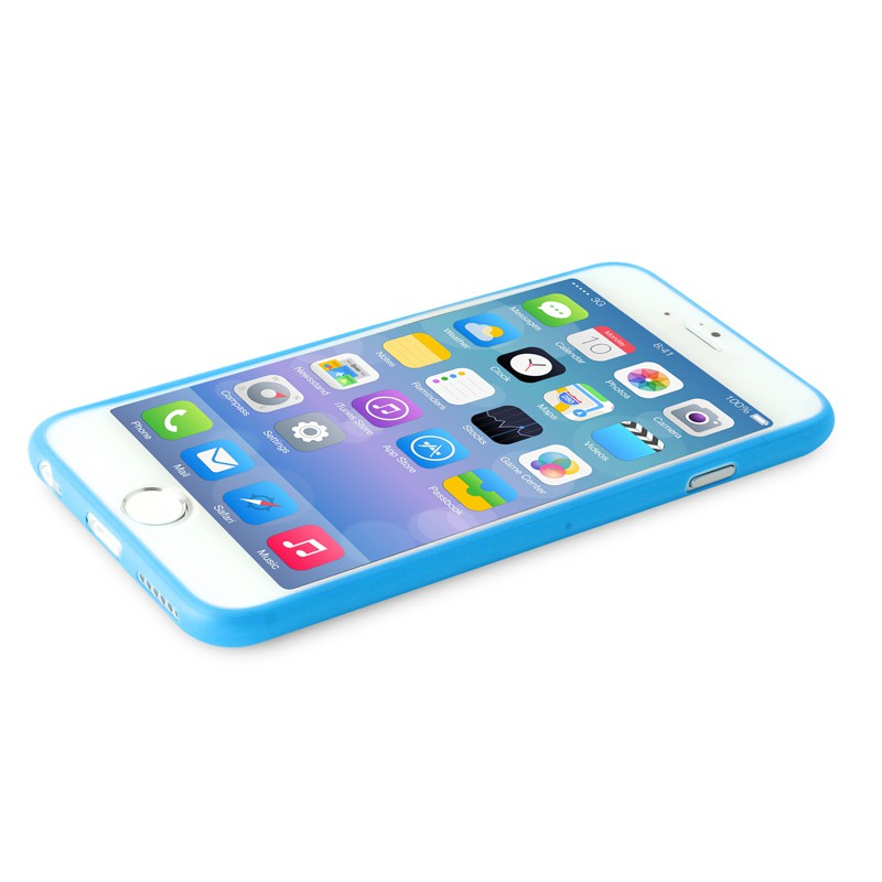 Puro UltraSlim Backcover iPhone 6 Blue - 7