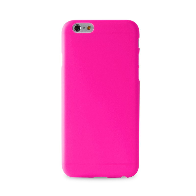 Puro UltraSlim Backcover iPhone 6 Plus Pink - 1