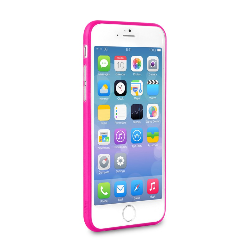 Puro UltraSlim Backcover iPhone 6 Pink - 3