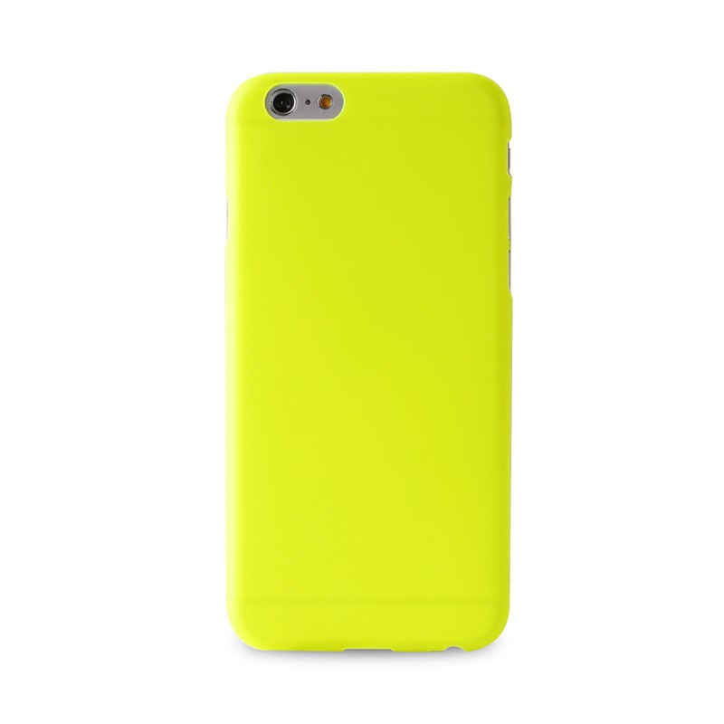 Puro UltraSlim Backcover iPhone 6 Plus Yellow - 1
