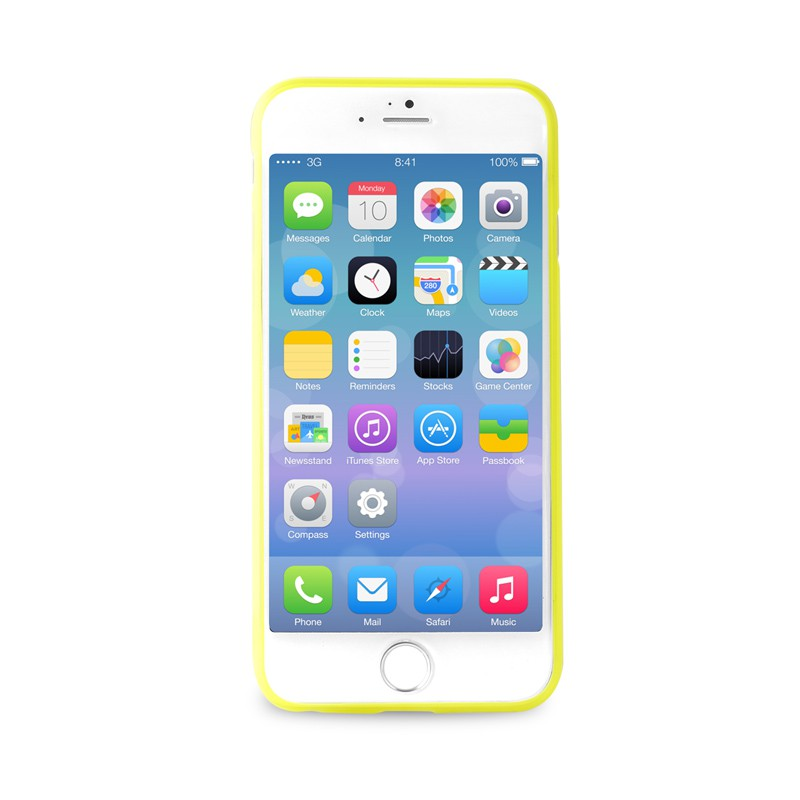 Puro UltraSlim Backcover iPhone 6 Plus Yellow - 2