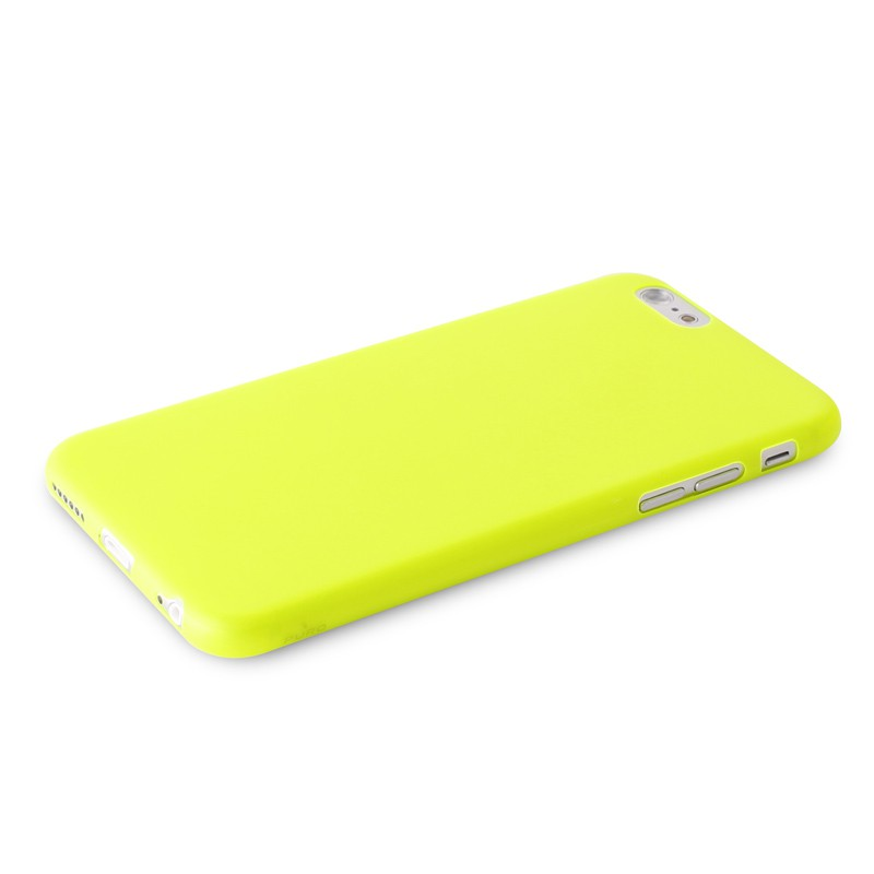 Puro UltraSlim Backcover iPhone 6 Yellow - 5