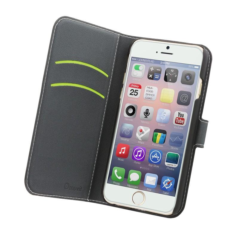 Muvit Wallet Case iPhone 6 Plus Black - 2