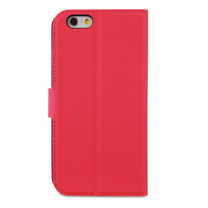 Muvit Wallet Case iPhone 6 Plus Pink - 3