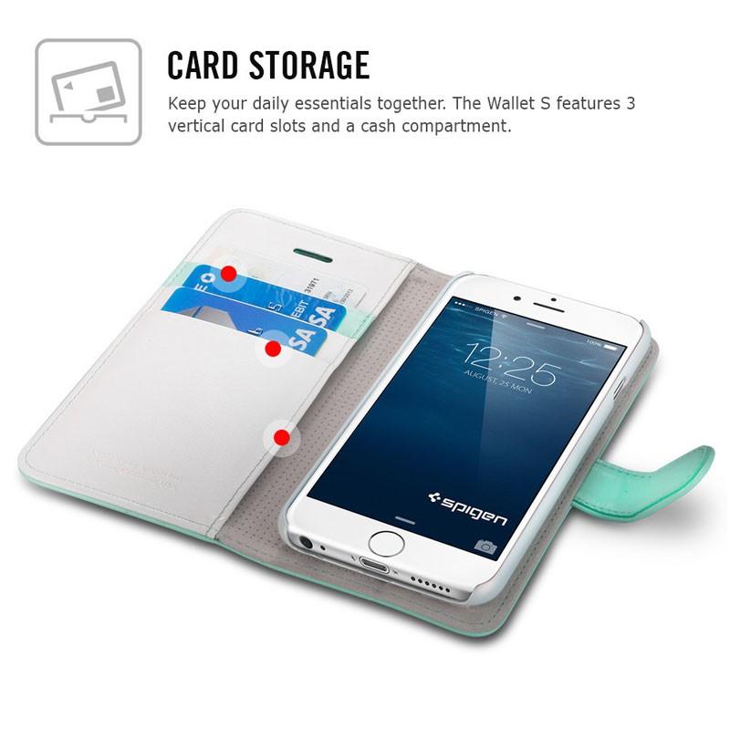 Spigen Wallet S Case iPhone 6 Mint - 3
