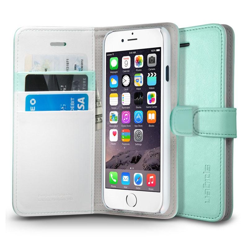 Spigen Wallet S Case iPhone 6 Mint - 1