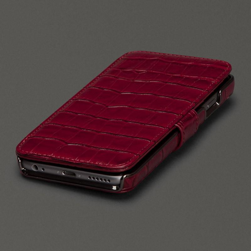 Sena  Wallet Book Classic iPhone 6/6S Croco Red - 1
