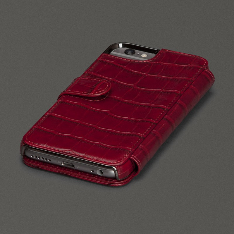 Sena Wallet Book Classic iPhone 6/6S Pebble Caramel - 2
