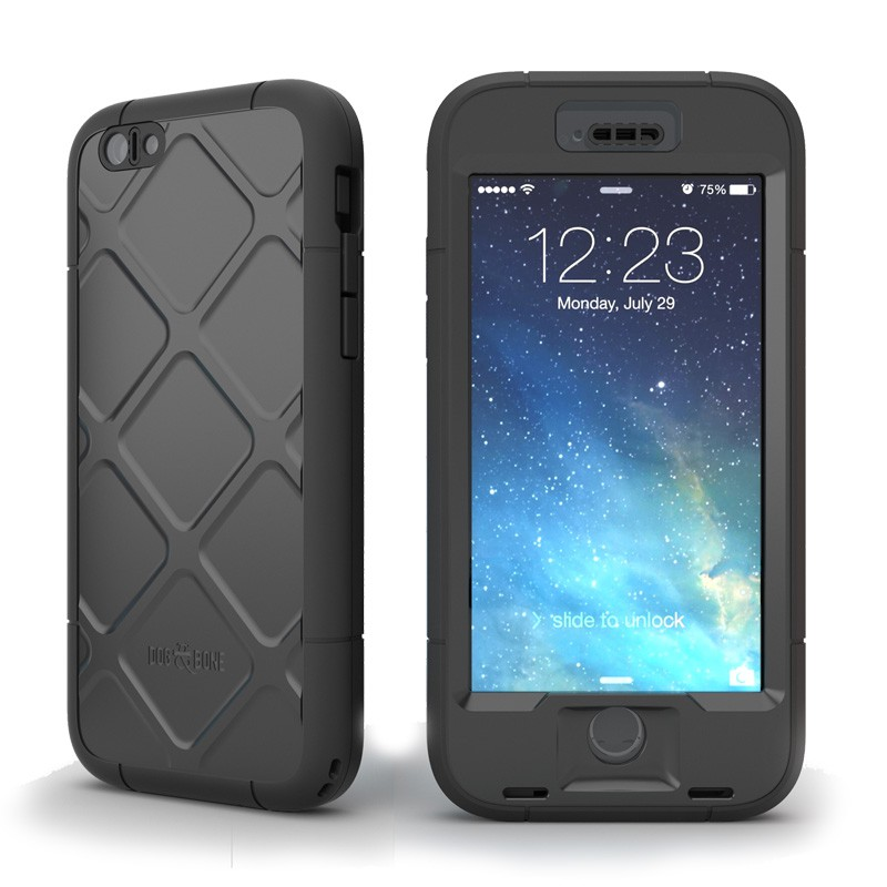 Dog and Bone Wetsuit Phone 6 Black - 1