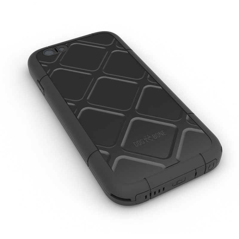 Dog and Bone Wetsuit Phone 6 Black - 2