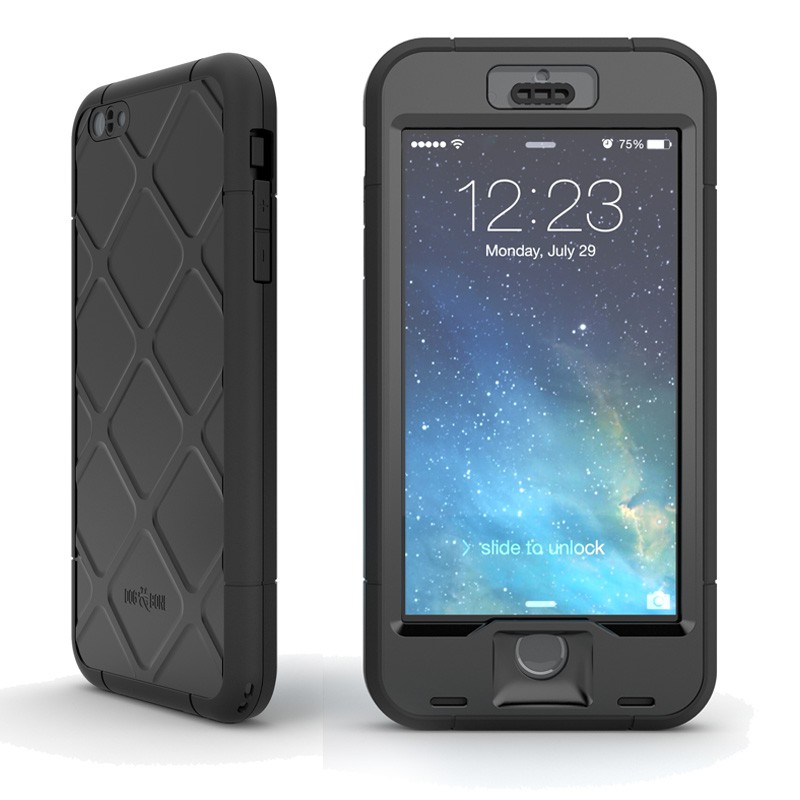 Dog and Bone Wetsuit Phone 6 Plus Black - 1