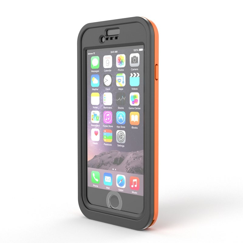 Dog and Bone Wetsuit Impact iPhone 6/6S Electric Orange - 2