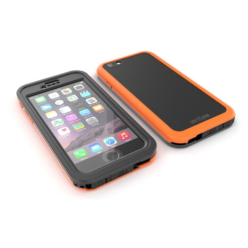Dog and Bone Wetsuit Impact iPhone 6/6S Electric Orange - 4