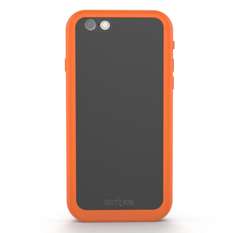 Dog and Bone Wetsuit Impact iPhone 6/6S Electric Orange - 5