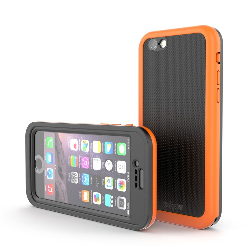 Dog and Bone Wetsuit Impact iPhone 6/6S Electric Orange - 6