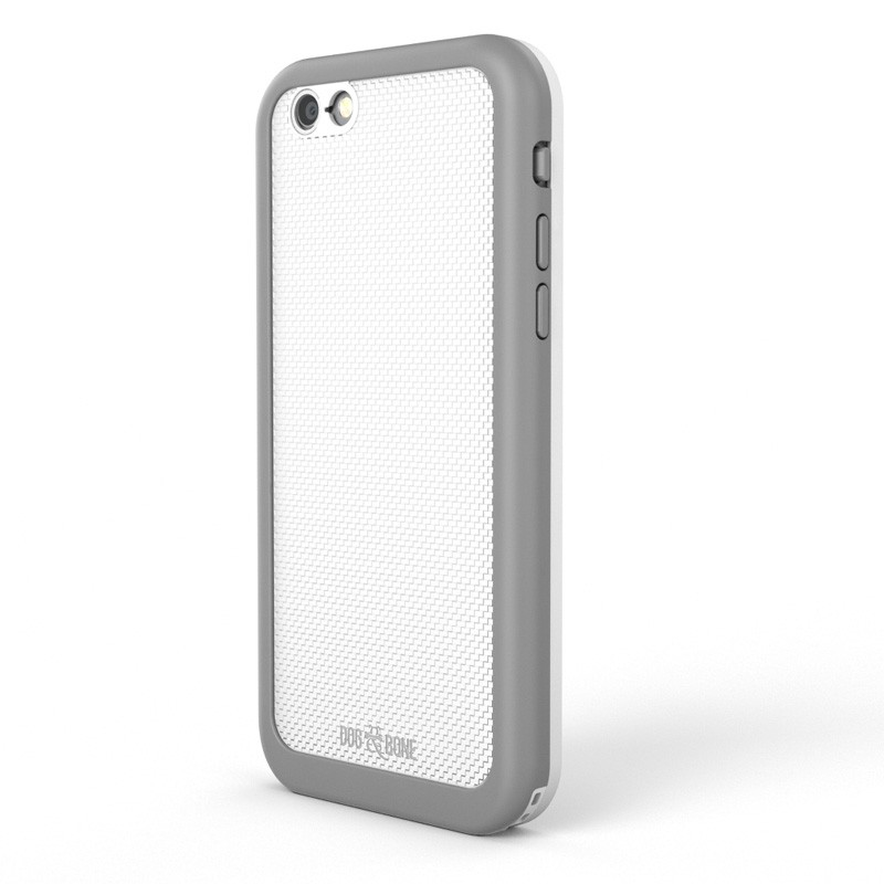 Dog and Bone Wetsuit Impact iPhone 6/6S White - 5