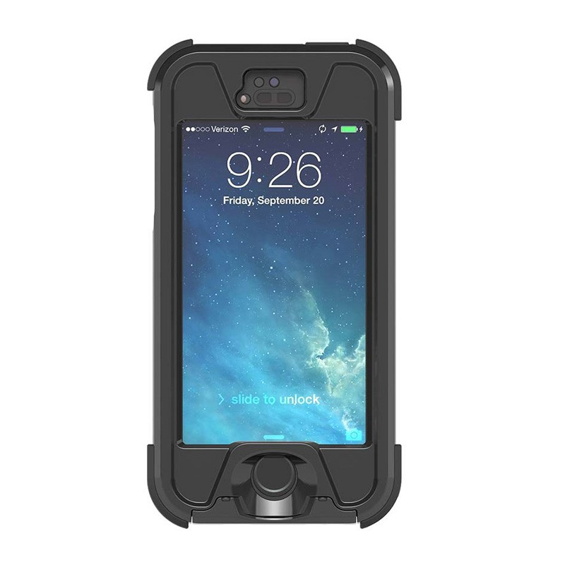 Dog and Bone Wetsuit iPhone 5/5S Black - 1